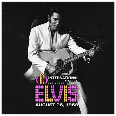 Elvis live 2lp cover