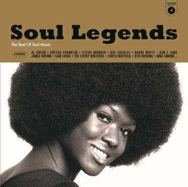 Soul legends   the best of soul music   vinyl box set   3369346