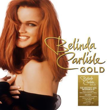 Belindacarlisle gold pack lp sticker