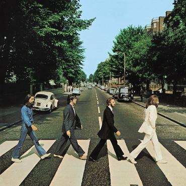 The beatles abbey road original cover art