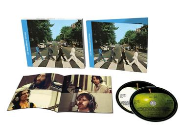 The beatles abbey road 2cd deluxe 3d product shot