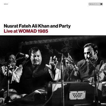 Ali khan  nusrat fateh live at womad 1985