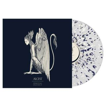 Alcest clear bone blue splatter