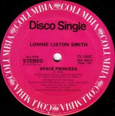 Space princess lonnie liston smith
