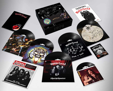 Motorhead 1979 box features