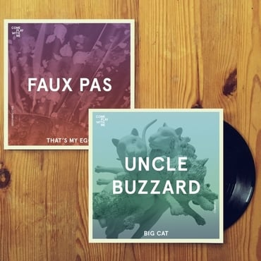 V600 cpwm015 vinyl pic   uncle buzzard  faux pas