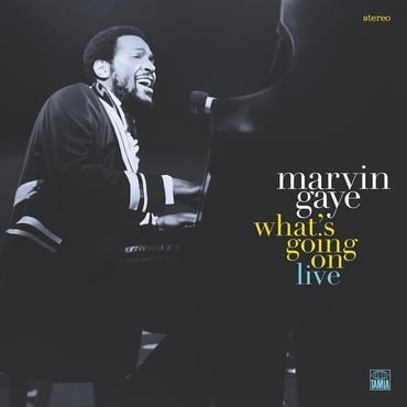 Cover art marvin gaye whats going on live