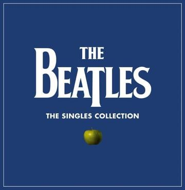 The beatles the singles collection flat packshot