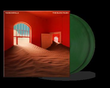 Tame impala   green vinyl