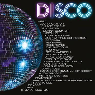 Disco vinyl packshot