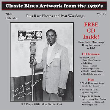 Tefteller 2020 blues calendar front cover 400 ppi