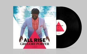 Cover  album all rise   2lp black