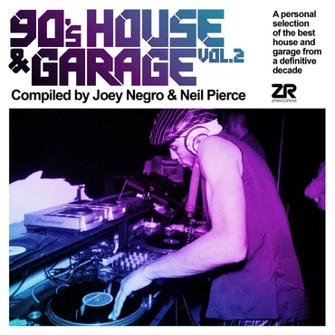 Various artists   90%e2%80%99s house   garage vol. 2 compiled by joey negro   neil pierce   zeddcd47 1000x1000