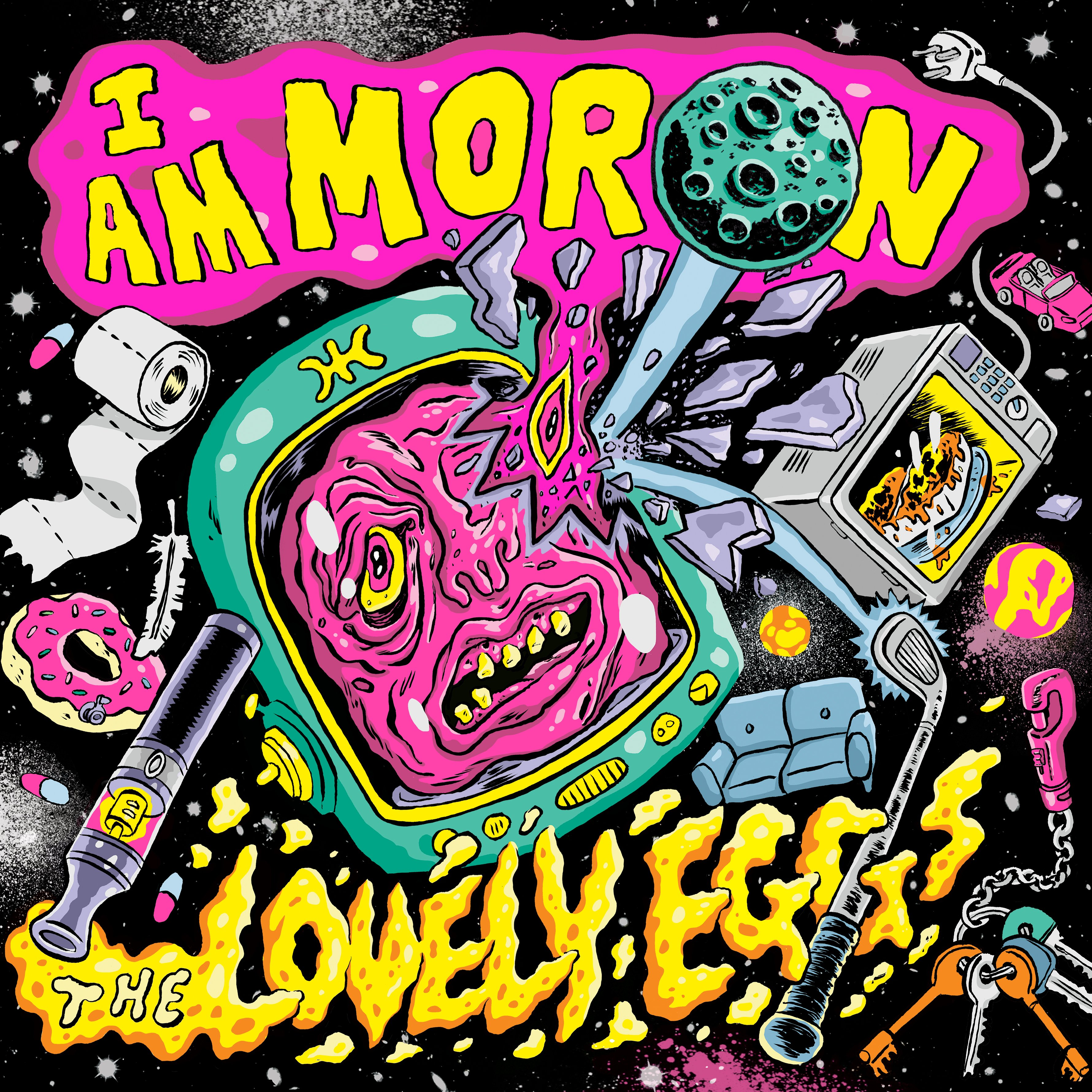 The Lovely Eggs - I Am Moron - CD – Rough Trade