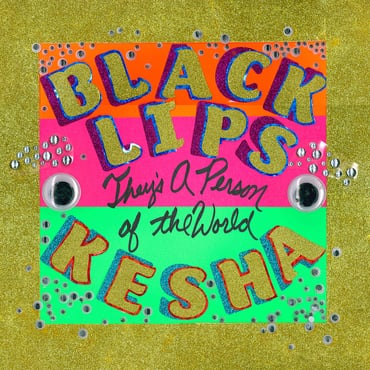 Black lips   they's a person of the world cover
