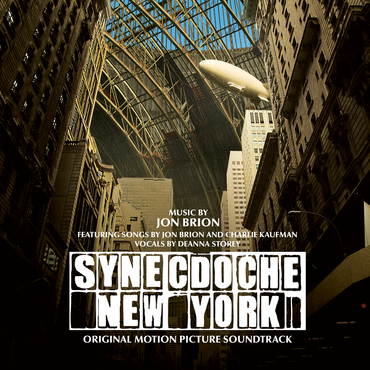 Jon brion   synecdoche new york   cover
