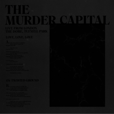 The murder capital   live
