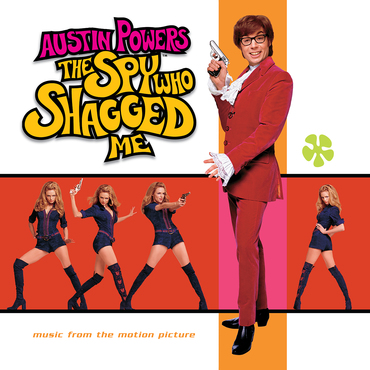Ost various artists austin powers   spy who shagged me cover