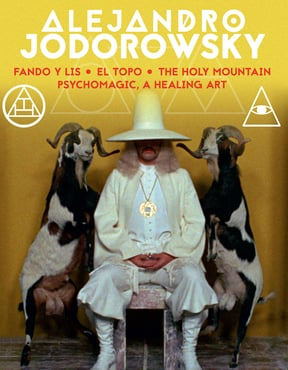 Jodorowsky 4k box set cover art