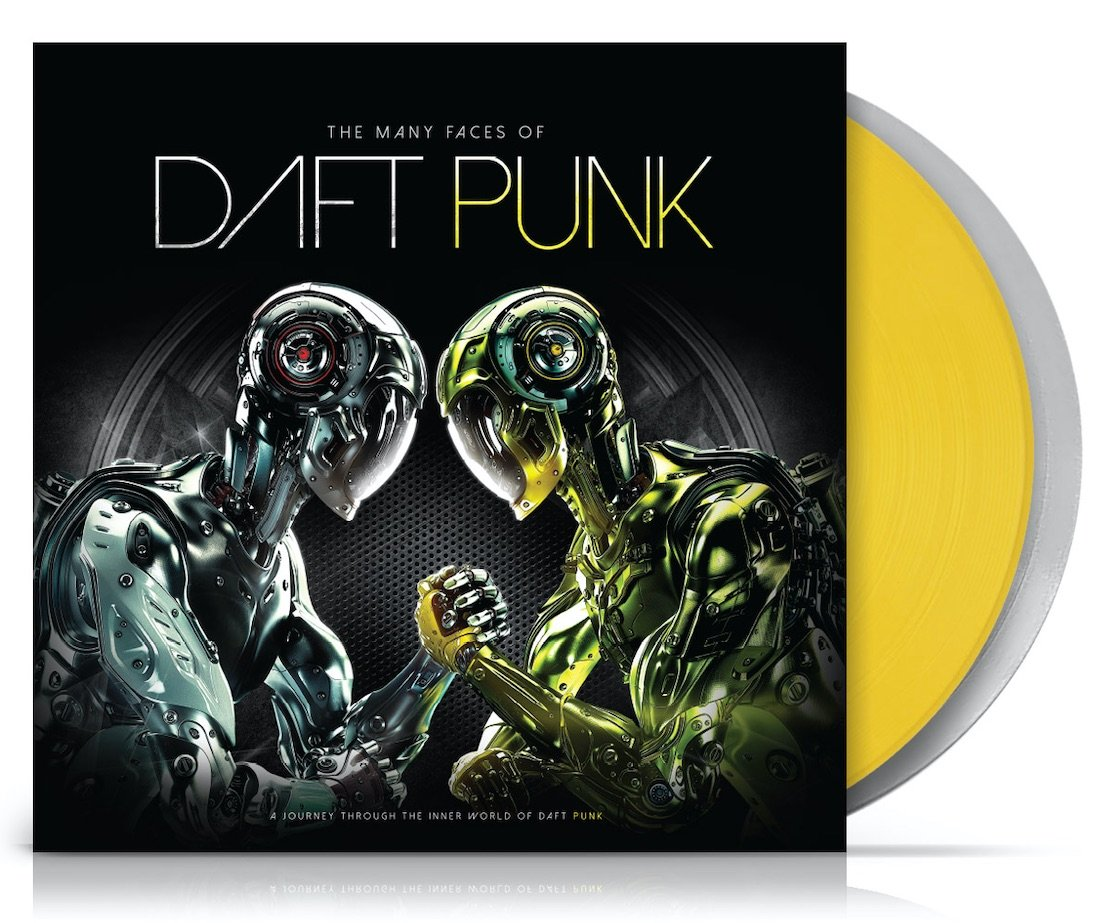 Daft Punk The Many Faces Of Daft Punk Lpx2 Rough Trade