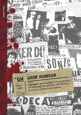 Grim humour front cover