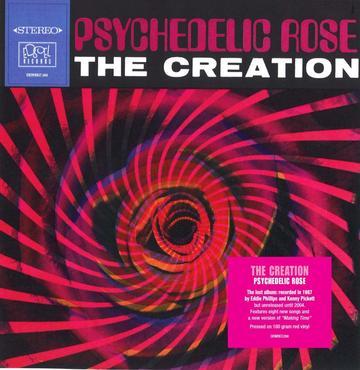 Demrec288 the creation psychedelic rose stciker