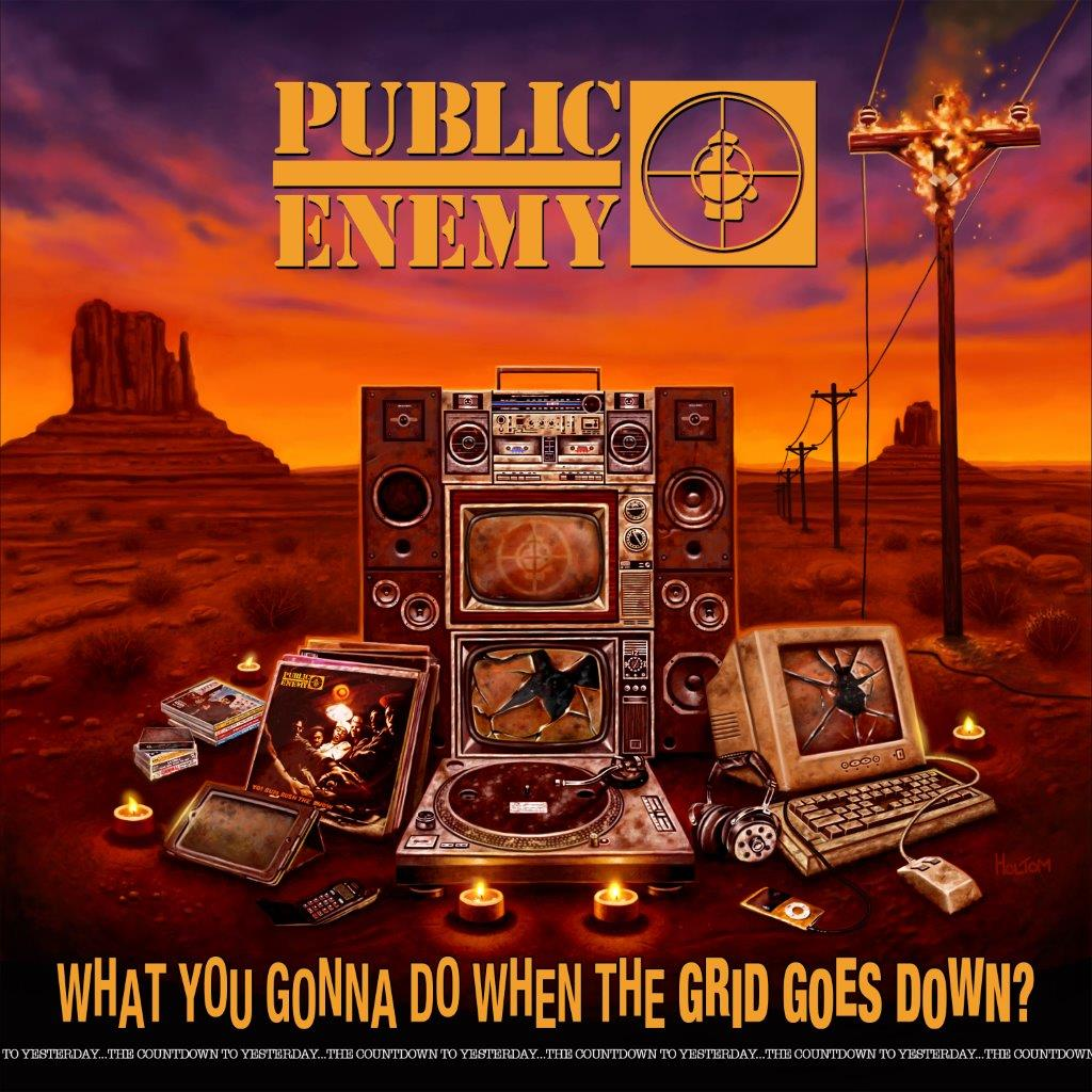 Public Enemy - What You Gonna Do When the Grid Goes Down - CD – Rough Trade