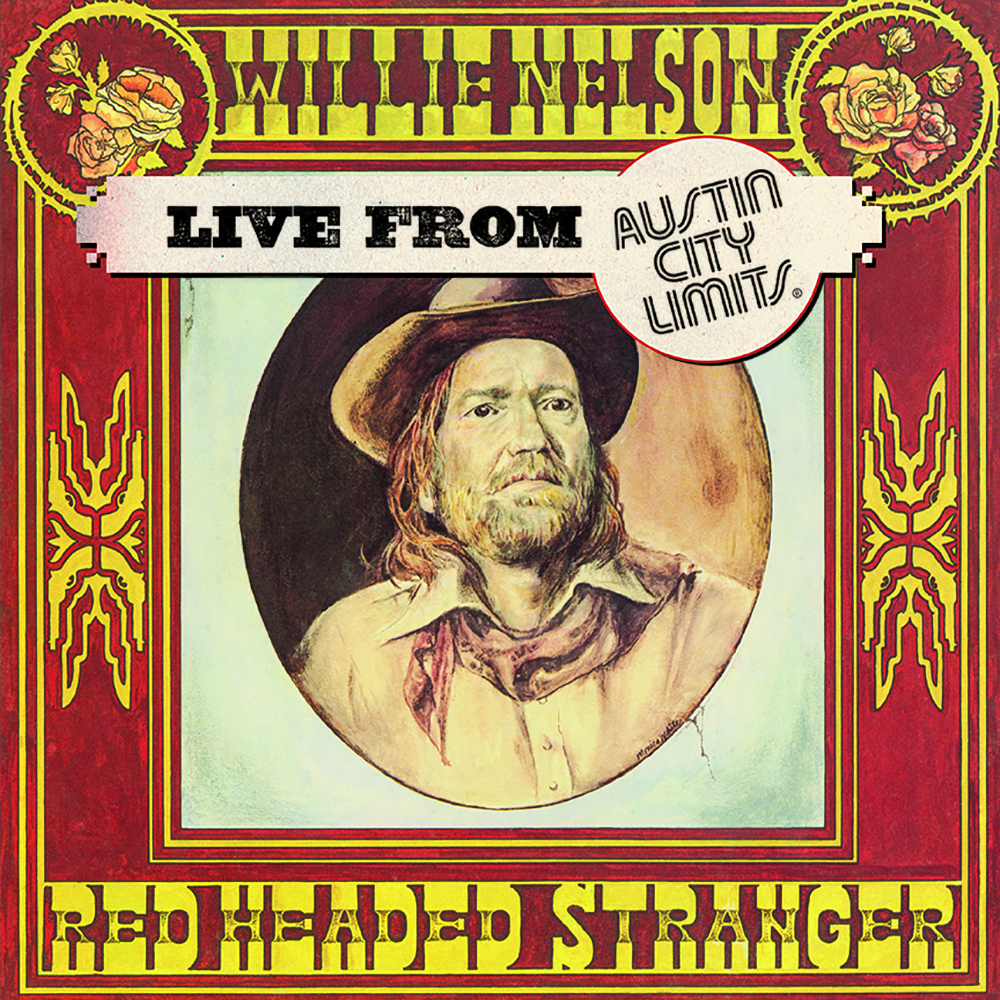 Willie Nelson Red Headed Stranger Live From Austin City Limits Lp Rough Trade