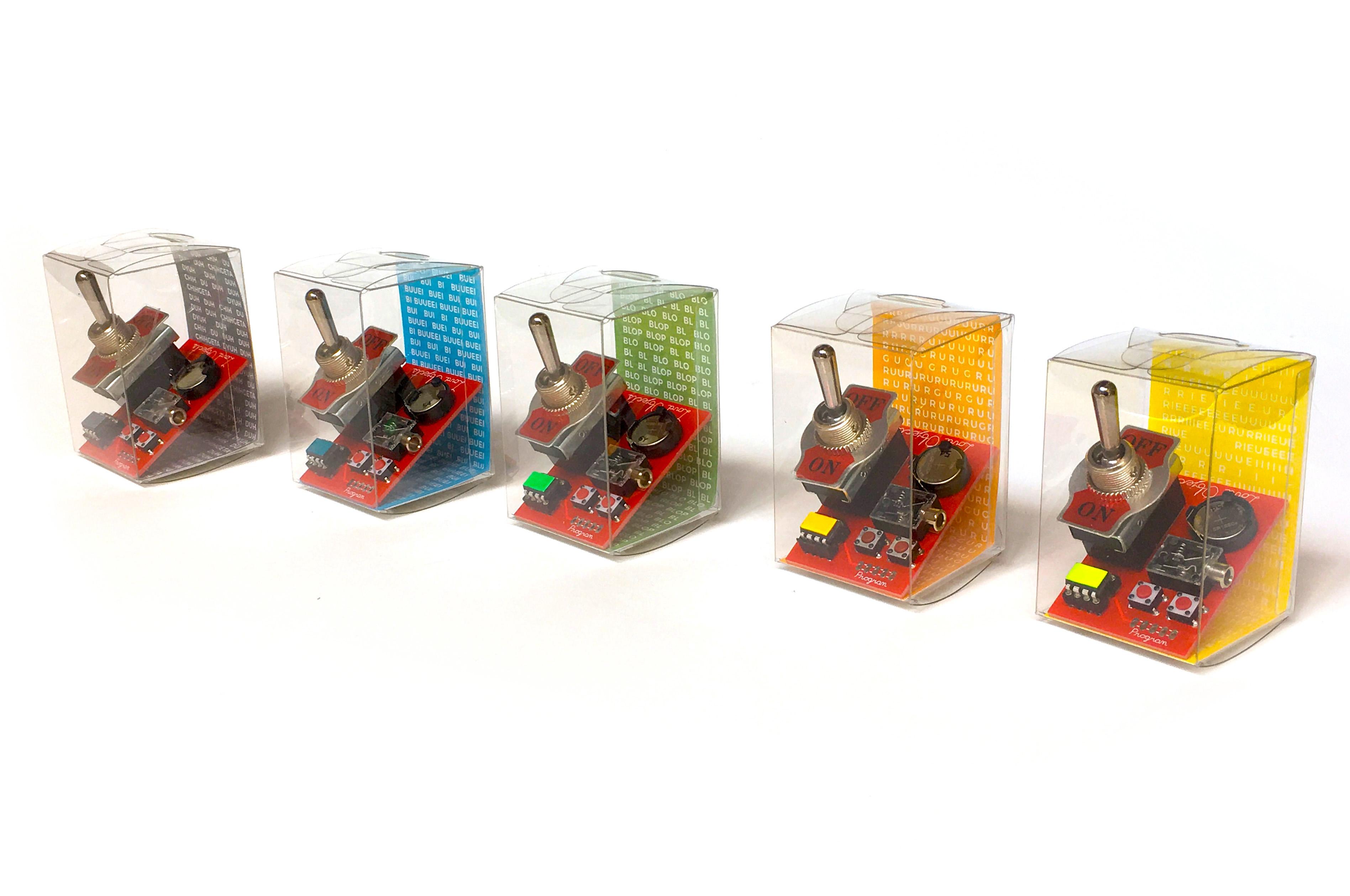 Loud objects noise toy 3