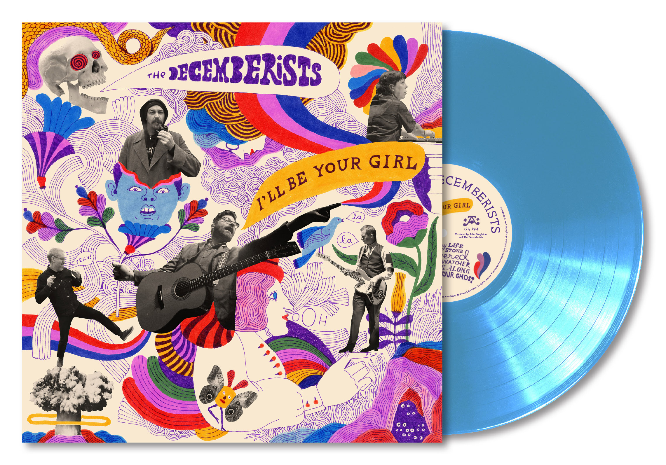 The decemberists i'll be your girl packshot