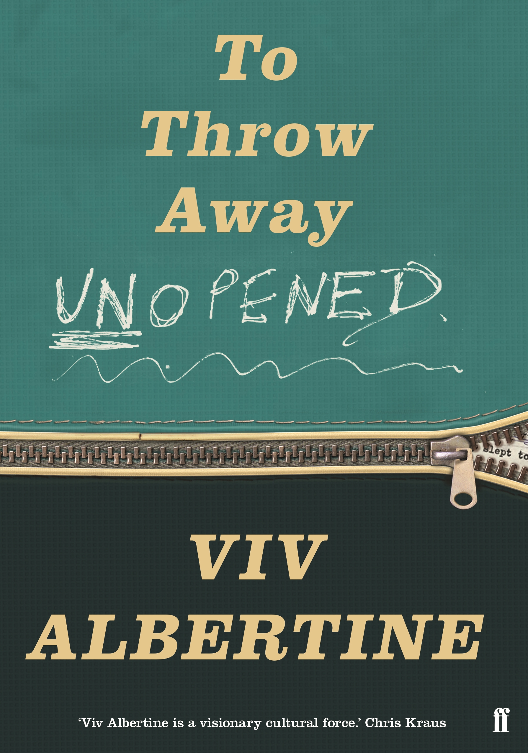 Albertine.tothrowawayunopened.coverimage