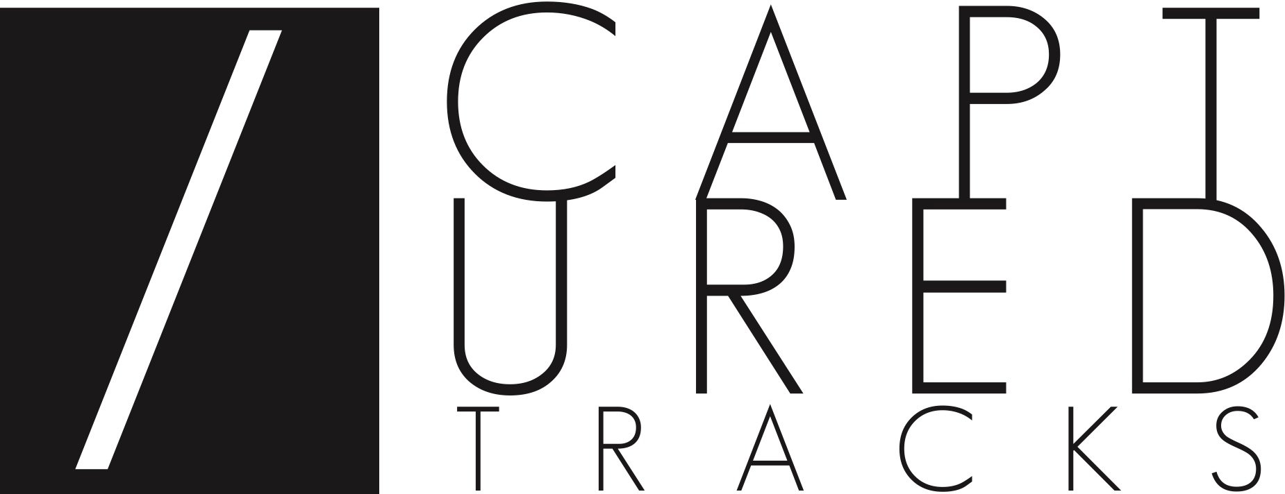 Capturedtracks logohorizontal black good
