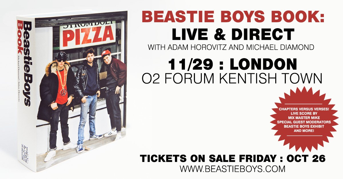Beastie Boys (Kentish Town Forum) – Rough Trade