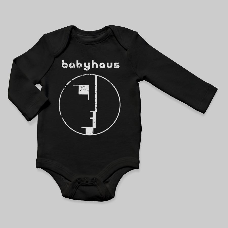 Babyteith babyhaus bodysuit baby black longsleeve 900x