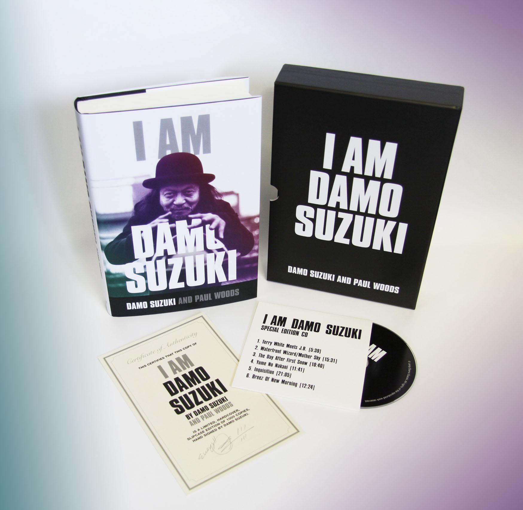 Damo suzuki packshot colours